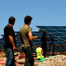 installation de panneaux photovoltaiques